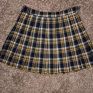 Clueless Pleated Skirt